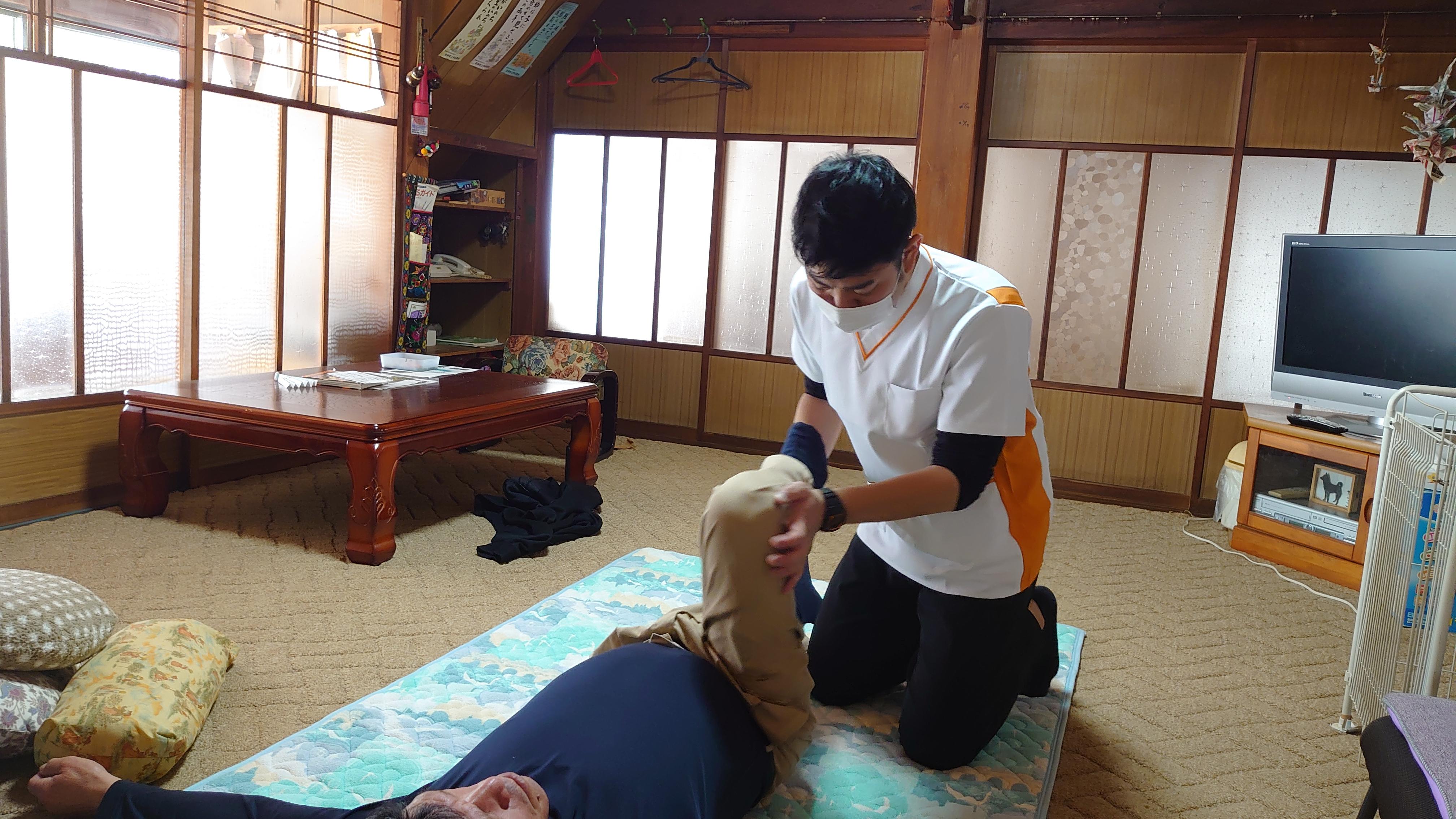コムギ鍼灸2